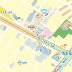 表参道店マップ